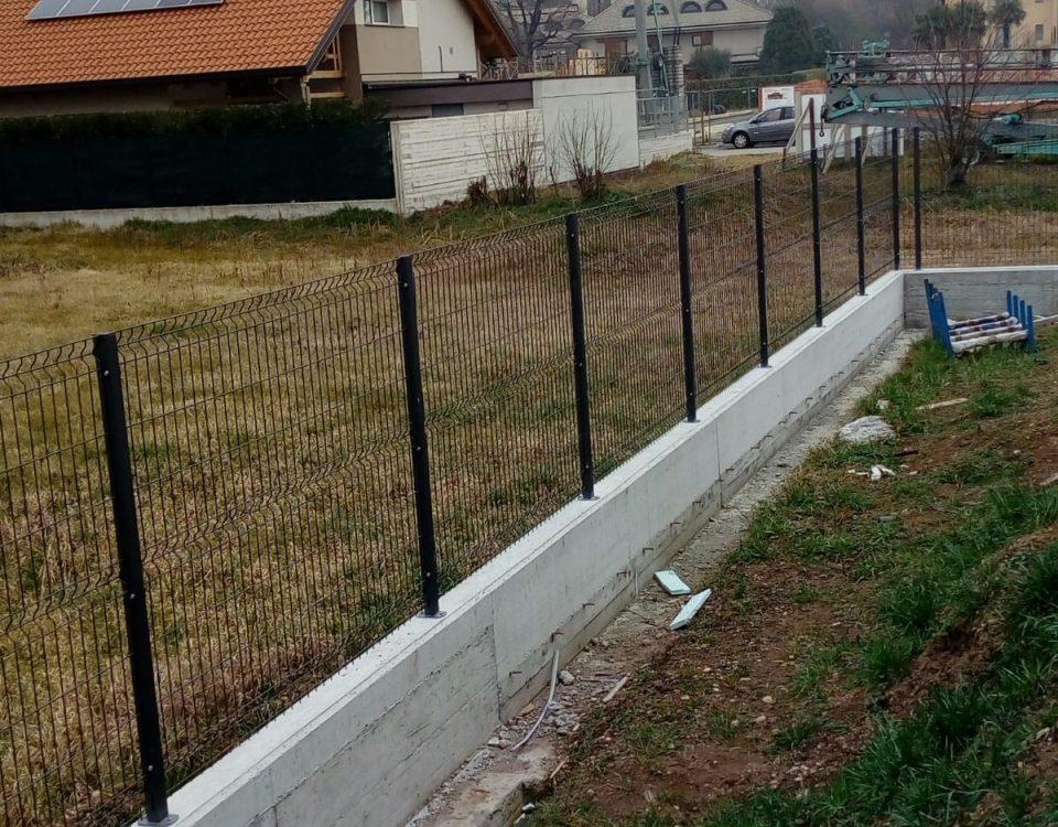 cmc recinzioni-cantiere Abbiategrasso-Recinzione modello ondina
