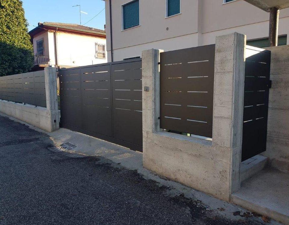 cmc recinzioni - cantiere albaredo d'adige - Recinzione modello mare