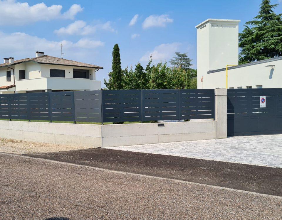 cmc recinzioni-cantiere Arcugnano-Recinzione modello mare