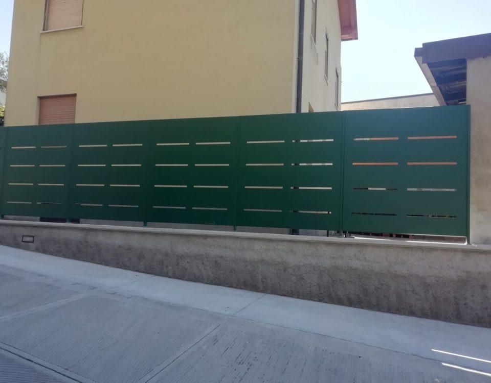 cmc recinzioni-cantiere bergamo-Recinzione modello mare