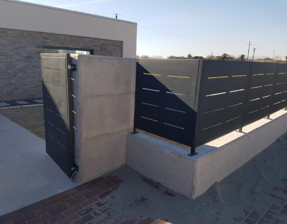 cmc recinzioni-cantiere borgo virgilio-Recinzione modello mare
