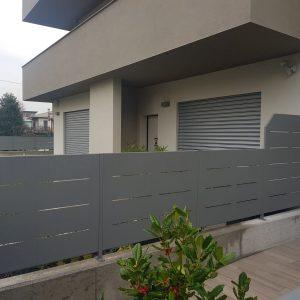 cmc recinzioni - cantiere dalmine - Recinzione modulare modello Mare