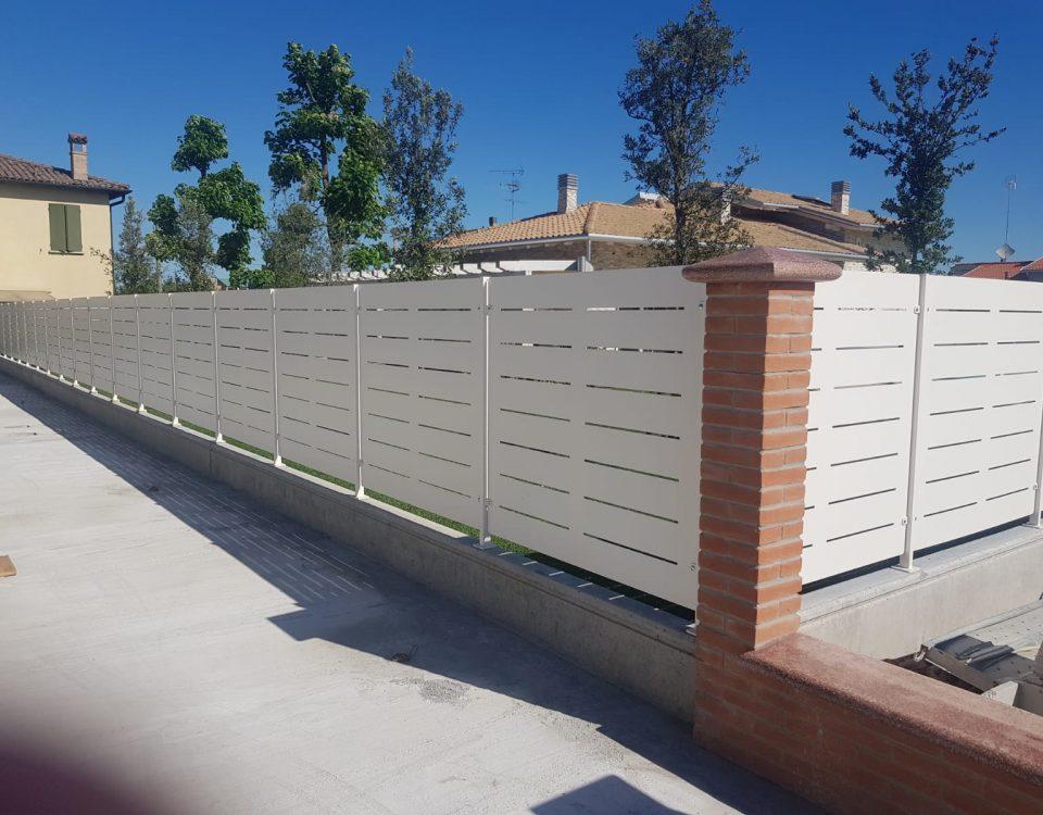 cmc recinzioni-cantiere granarolo-Recinzione modello mare