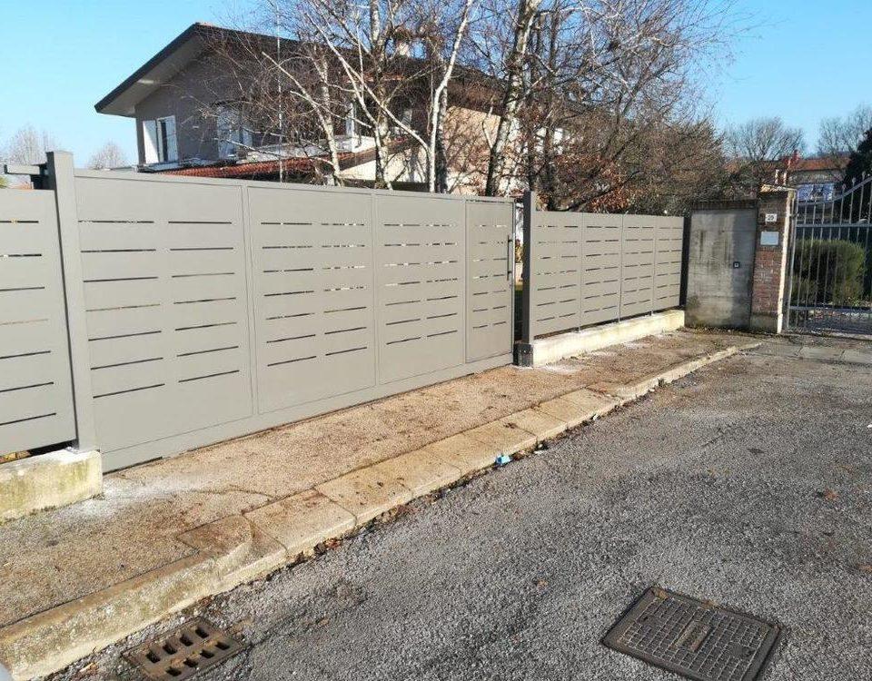 cmc recinzioni-cantiere Lonigo-Recinzione modello mare