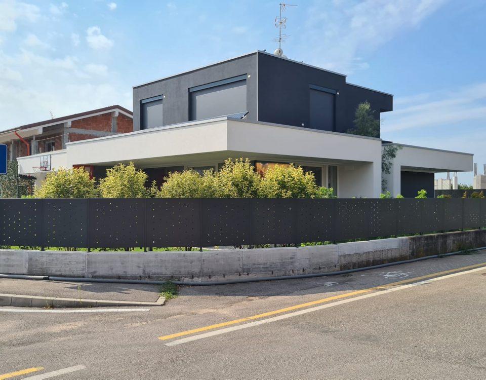 cmc recinzioni-cantiere lugagnano-Recinzione modello foro quadrato