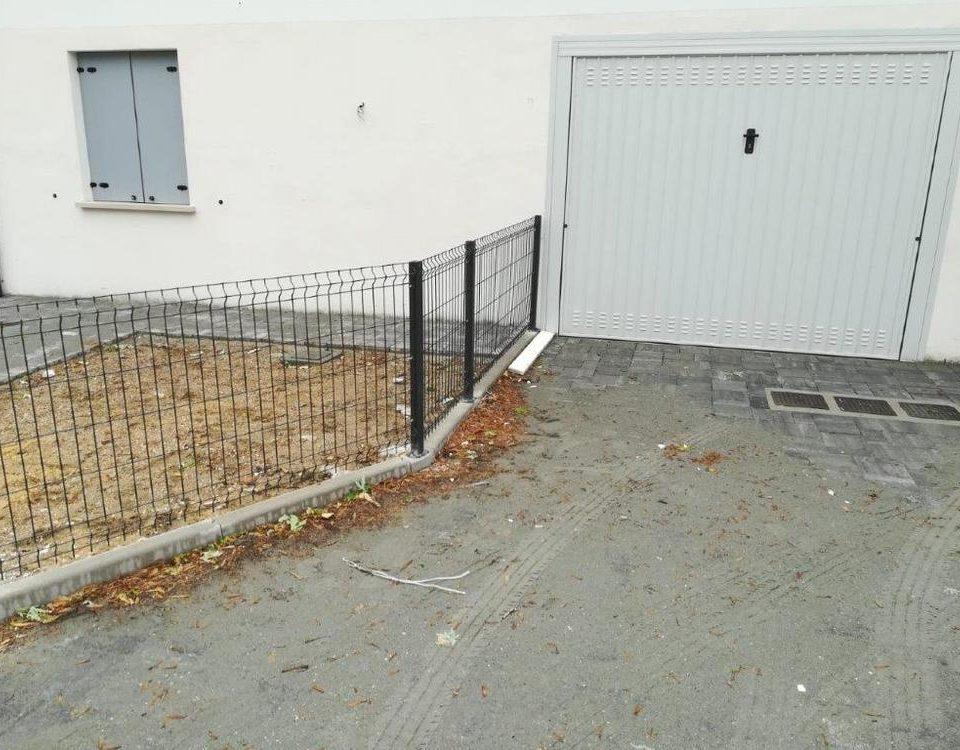 cmc recinzioni - cantiere mestre - Recinzione modello ondina