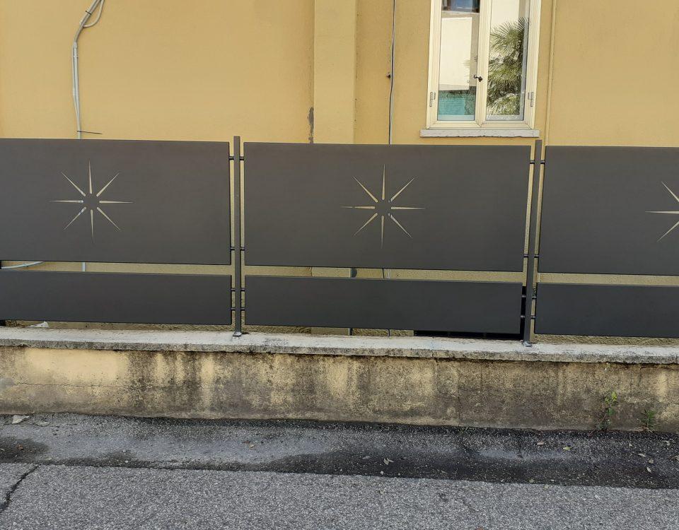 cmc recinzioni-cantiere San Martino Buon Albergo-Recinzione modello sole