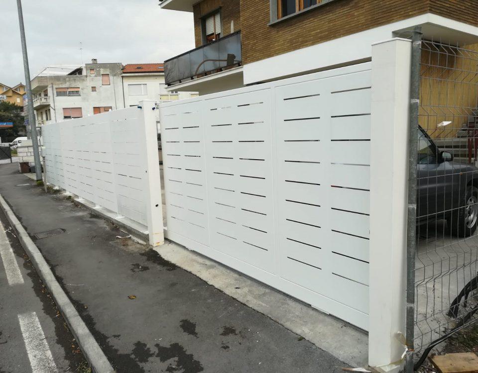 cmc recinzioni - cantiere senigalia - Recinzione modello Mare