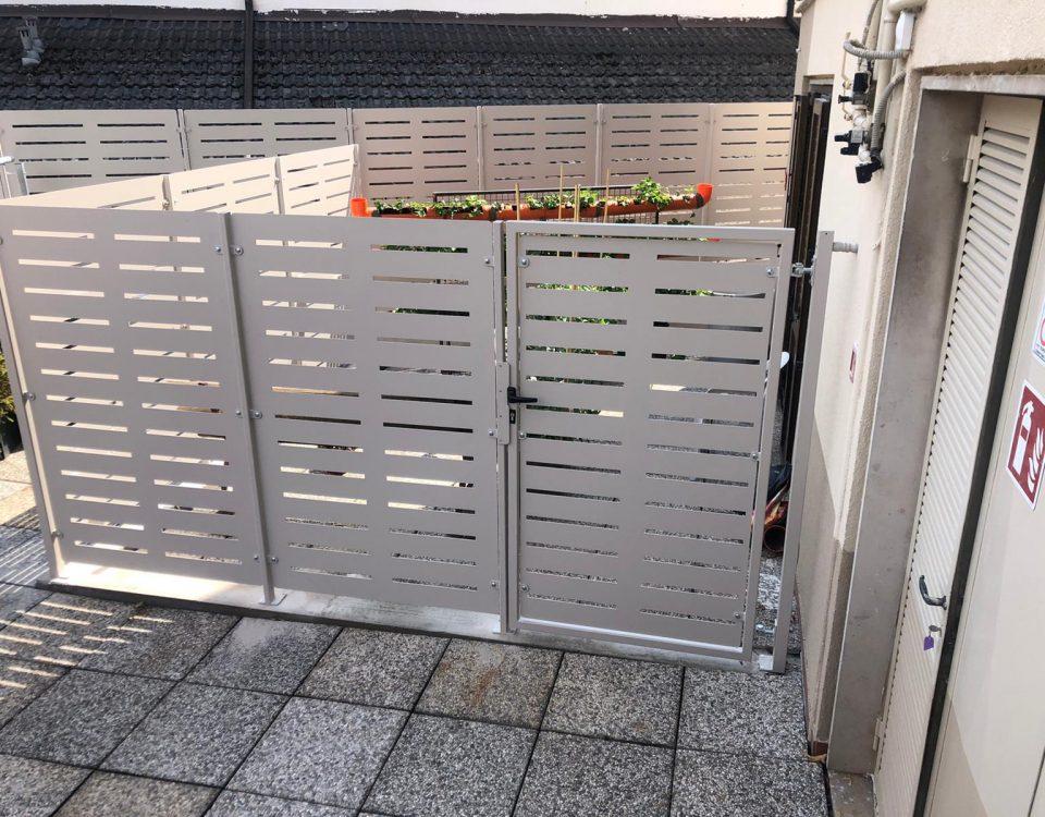 cmc recinzioni-cantiere Trento-Recinzione modello mare