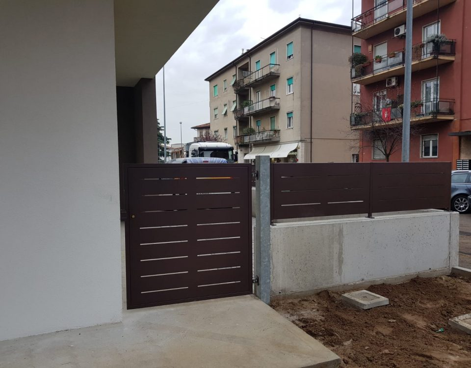 cmc recinzioni-cantiere Verona-borgo roma-Recinzione modello Mare