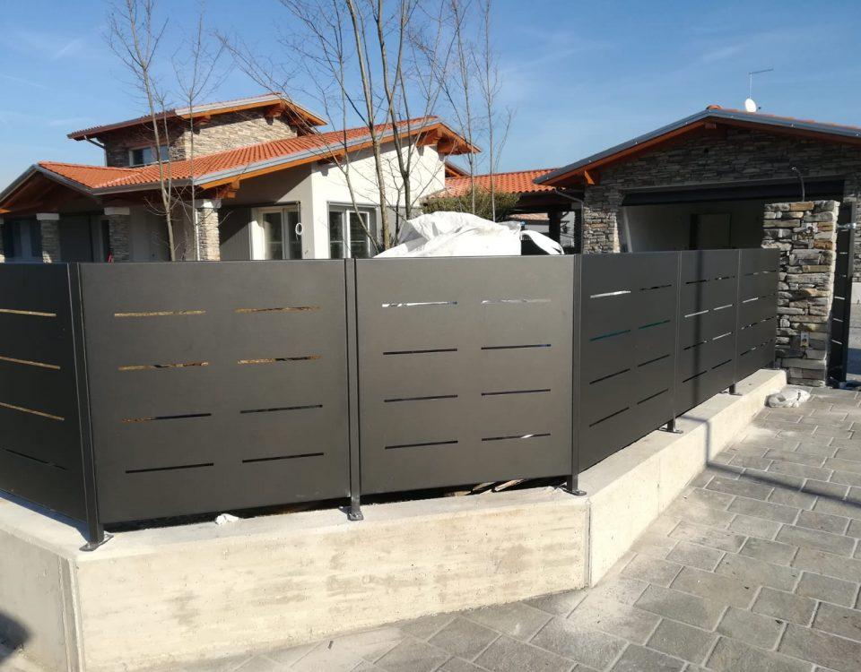 cmc recinzioni-cantiere vicenza-Recinzione modello mare