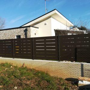 cmc recinzioni-cantiere vicenza-Recinzione modello village