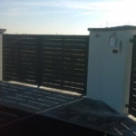 cmc recinzioni - cantiere di Pescantina - Recinzione modulare modello Mare