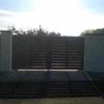 CMC Recinzioni - cantiere di pescantina - recinzione modello Mare