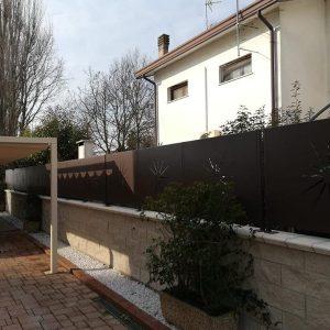 cmc recinzioni-cantiere ferrara-Recinzione modello sole