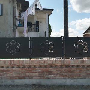 cmc recinzioni-cantiere Fontebuona Cocomaro (FE)-Recinzione modello cosmo