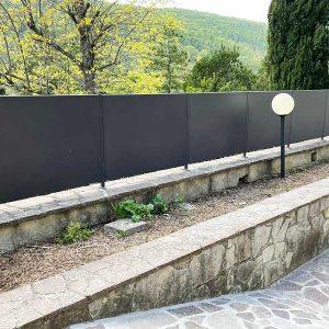 cmc recinzioni-cantiere Fontebuona Vaglia (FI)-Recinzione modello personalizzato