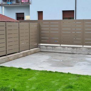 cmc recinzioni-cantiere Fontebuona San Giovanni Lupatoto (VR)-Recinzione modello mare